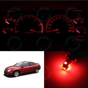 Red Dashboard Speedometer Instrument Cluster Led Light Bulbs For 00 05 Neon