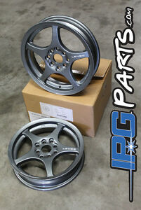 Lenso Xpd Gunmetal Drag Skinnies Wheels 15x3 5 4x100 For Civic Integra Crx Rims