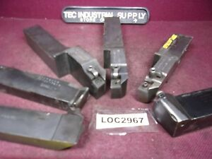 Miscellaneous 1 1 2 Shank Indexable Lathe Tool Holder Lot Of 6 Loc2967