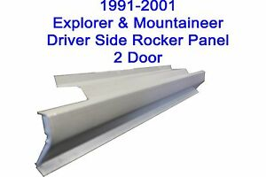 1991 2001 Ford Explorer Mountaineer 2dr Outer Rocker Panel New Driver Side