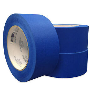 Allfasteners 2in X 60yd Blue Masking Painters Tape 21 Day Release 13mtb2 24 pack
