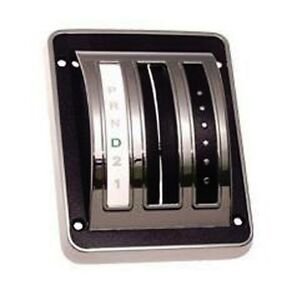 New 1969 1970 Ford Mustang Shift Cover Auto Transmission Chrome Bezel And Seal