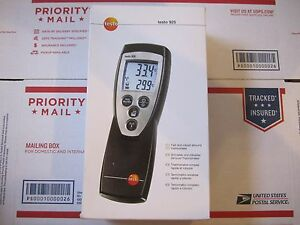 Testo 925 Type K Thermometer Works With Many Probes Wired And Wireless