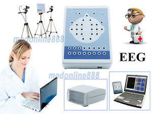 New Eeg Machine Digital Brain Electric Activity Mapping 16 Channel video System