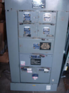 Square D Distribution Panel With Fused Qmb Switches