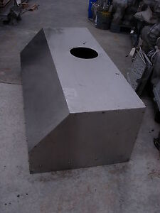 Stainless Restaurant Kitchen Exhaust Hood 5 1 4 W X 21 H X 30 D used