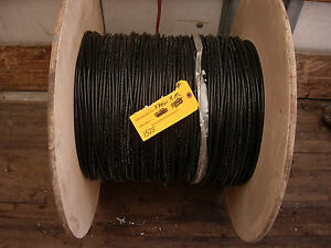 4 Awg Compact Aluminum Wire Xhhw 1525 Feet new Alcan Stabiloy Hs