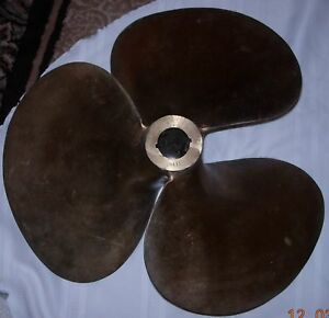Brass Boat Propeller Only 1 Left