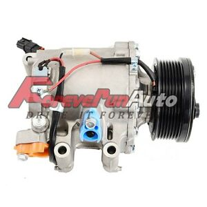 A C Compressor And Clutch For Honda Civic 2006 2011 1 8l 4 Cyl Co 4918ac