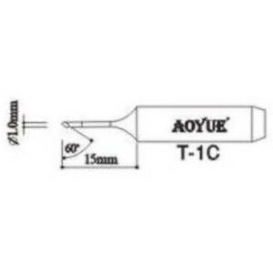 Aoyue T1c Replacement Soldering Iron Tips