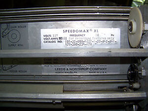 Leeds Northrup Speedomax Xl Chart Recorder By Gilford 6050 Vintage In Vitro