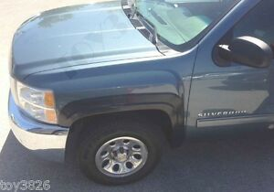 Factory Style Finish Fender Flares For 2007 2013 Chevy Silverado 2500hd