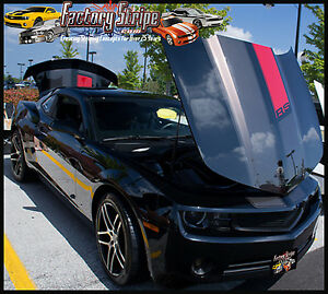 2010 2014 Chevy Camaro Rs Anniversary Factory Stripe Graphic Decal Kit
