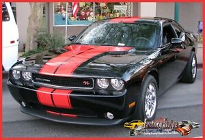 Dodge Challenger T Stripe Rally Kit With Outline Factory Stripe 2008 To 2014