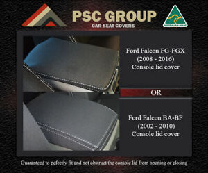 Console Lid Cover Ford Falcon 02 Now Ba Bf Or Fg Premium Neoprene Waterproof