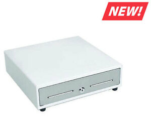 Mmf Val u line Pos Cash Drawer 16 X 16 White Stainles Steel 4 Bill 8 Coin New