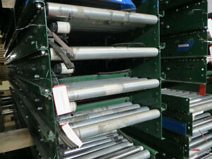 25 W X 12 L Gravity Roller Conveyor siemens Dematic W 1 25 Rail
