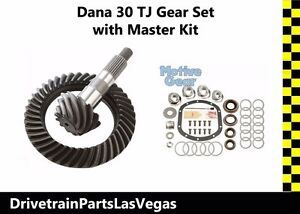 Motive Gear Dana 30 Tj Jeep Front End 4 10 Ring And Pinion Gear Set Install Kit