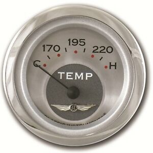 Classic Instruments All American Series Water Temp Guage 2 1 8 Hot Rod Street