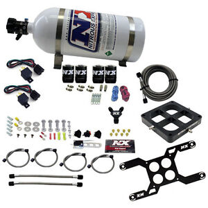Nx 66047 15 Nitrous Express 4500 Dominator Dual Stage 15lb Bottle 50 800hp