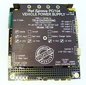 Tri m Pc 104 Vehicle Power Supply He104
