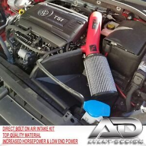 15 18 Vw Mk7 Gti 2 0 Golf R Turbo Tsi Golf L4 1 8 Af Dynamic Air Intake Red