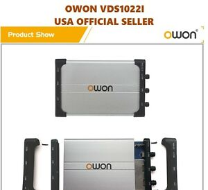 Owon Vds1022i Usb Isolation Pc Digital Storage Oscilloscope 25mhz 2 1 Ch 100ms s