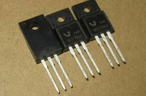 50 Pcs Wff7n60 N channel Mosfet To 220f New