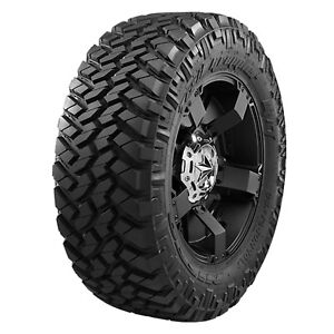 5 New Lt295 70r17 Nitto Trail Grappler M T Mud Tires 10 Ply E 121p