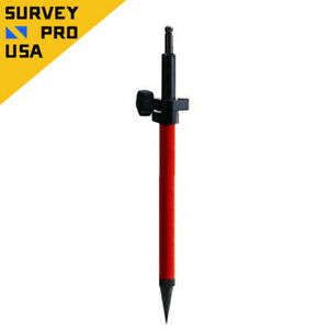 New Aluminum Mini Prism Pole W leica Tip For Total Station Prism Survey