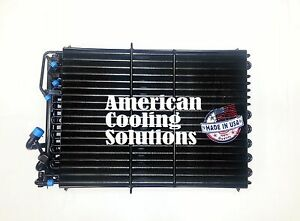 Condenser Fuel Oil Cooler For John Deere Re34166 7000 Series Tractor