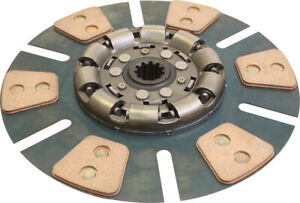 104495 Clutch Disc 6 Pad For International 706 756 766 786 806 826 Tractors