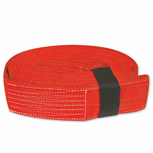 Tow Lifting Strap 4 x30 40 000 Lb Red