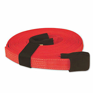 Tow Lifting Strap 2 x30 20 000 Lb Red