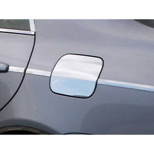 Luxury Fx Chrome Fuel Gas Door Cover W Crease For 2009 2013 Toyota Corolla