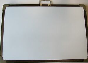 Magnetic Dry erase Board Chalkboard Double Sided Magnet Drawing Art 16x24 New