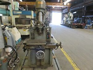Moore 3 Vertical Jig Borer Boring Machine W Digital Read Out see Details