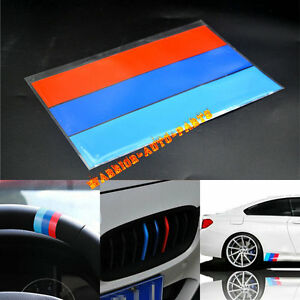 10 M Colored Stripe Sticker Decal For Bmw Exterior Or Interior Decoration New A