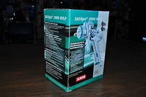 Satajet 2000 Hvlp Digital 2 Spray Gun 1 4mm N 1 0 L Alu Cup Sata 093476 Germany