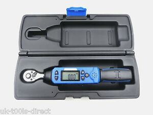 Low Range Digital Torque Wrench 1 4 Drive 6 30nm 4 4 22 1 Ft Lbs Calibrated