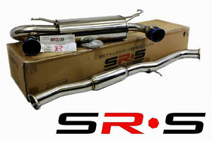 Sr S Tuning Dual 3 Full Catback Exhaust System For 02 07 Nissan 350z Srs