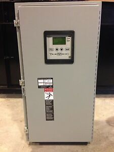 200 Amp 3r Asco 300 Series 3 Phase 208 240 480 Vac Automatic Transfer Switch