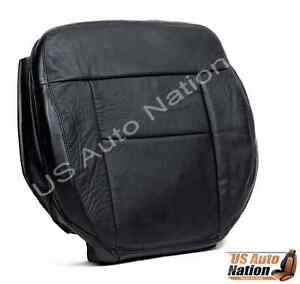 2004 2005 2006 2007 2008 Ford F150 Lariat Driver Bottom Leather Seat Cover Black