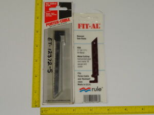 Porter Cable Rockwell 548 Bayonet Blades Nos Usa 5 12372 1 r58 Wood And Metal