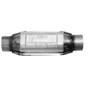 Ap Exhaust 608217 Universal Catalytic Converter Round 3 In out W O2 Epa Obdii