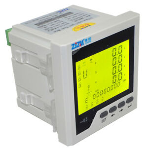 New Intelligent Digital Display Three phase Multi function Network Power Meter