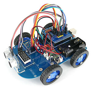 N20 Gear Motor Toy 4wd Bluetooth Smart Robot Car Chassis Kit Diy For Arduino Dg
