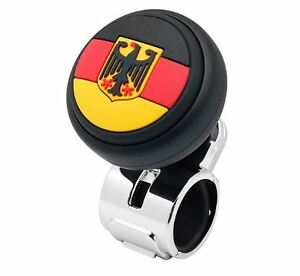 European Modern Power Handle Car Steering Wheel Spinner Accessory Slim Knob