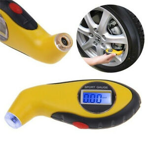 Tire Pressure Guage Digital Car Truck Air Psi Kpa Meter Tester Tyre Gage 2016