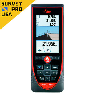 New Leica Disto S910 Laser Distance Meter Measure 300m Touchscreen Bluetooth